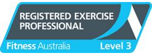 Fitness Australia Registered Exercise Professional Logo